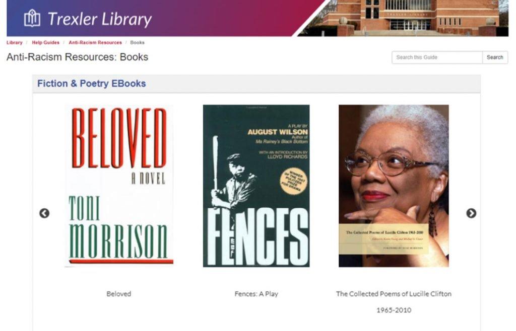 trexler library antiracism resources