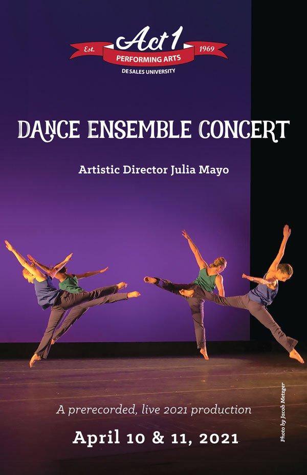 desales dance ensemble concert